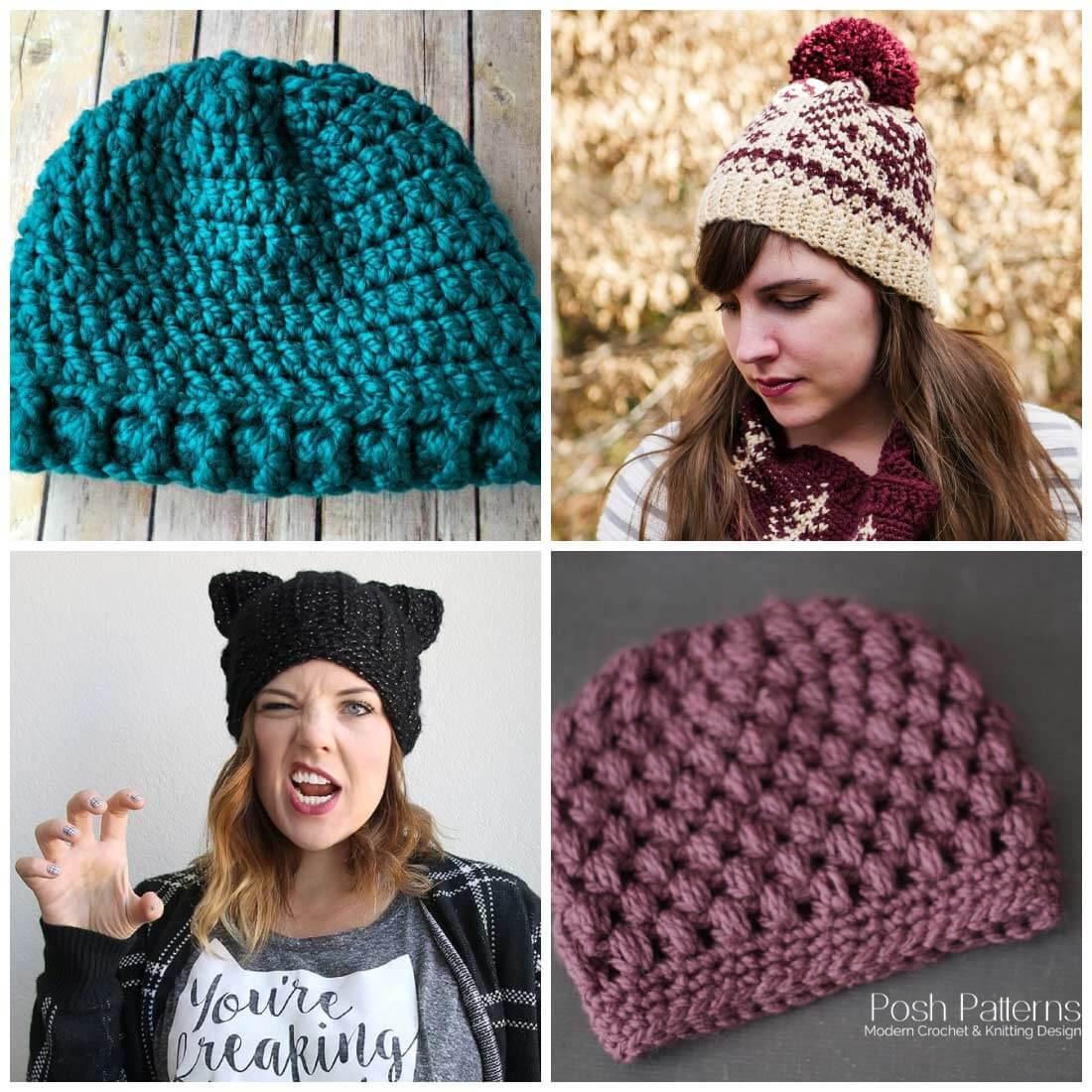 crochet hats free crochet hat patterns | free crochet patterns | crochet patterns | use tamwjgj