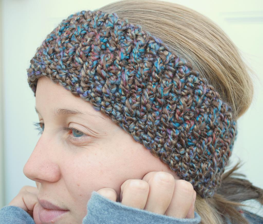 crochet headband pattern beautiful-double-crochet-headband-pattern-front-post-headband- cisdlwq