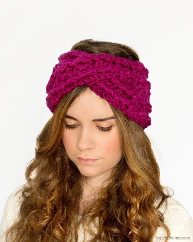 More About Crochet Headband Patterns Thefashiontamer