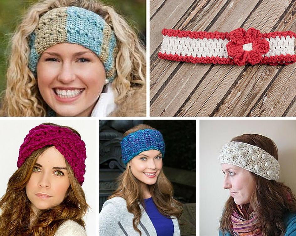 crochet headbands 50 crochet headband patterns | allfreecrochet.com yajswgp
