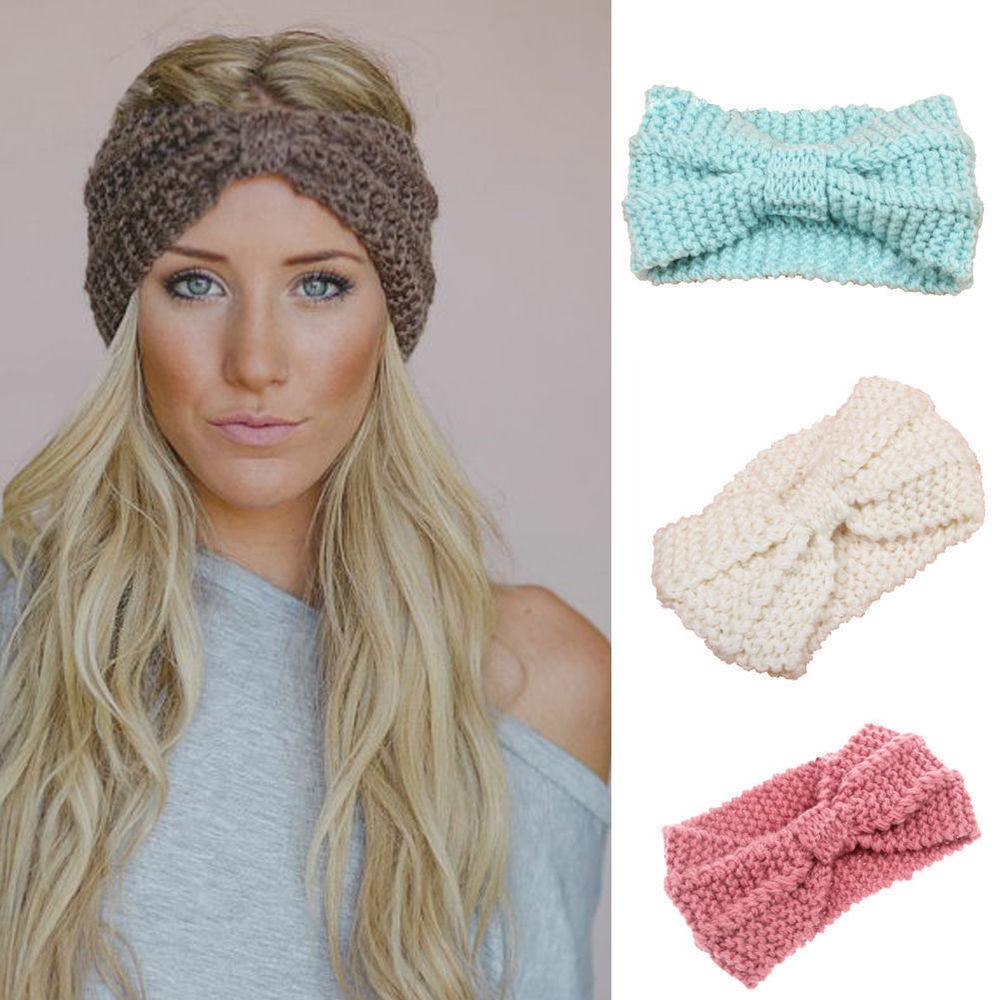 crochet headbands fashion knitted headbands women crochet headband wrap wide ear warmer  winter | qrdegjq