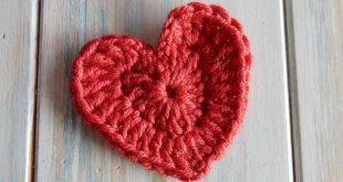 crochet heart how to crochet a heart - youtube ndojfku