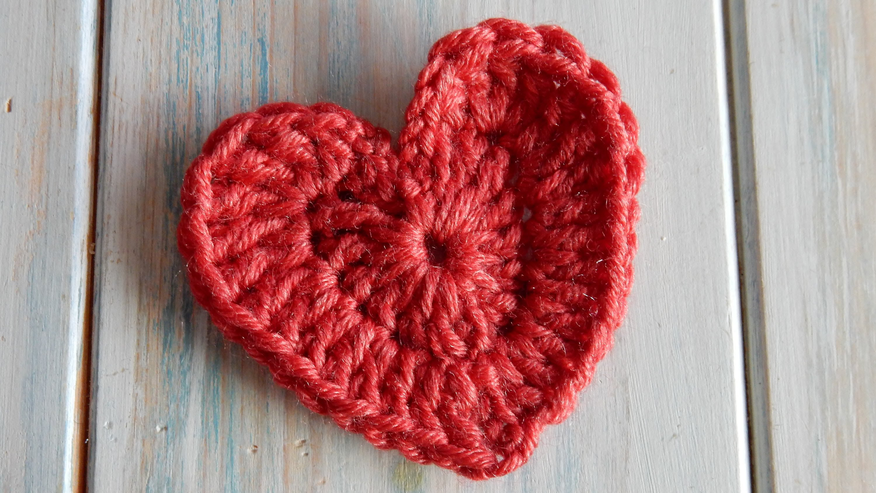 crochet heart how to crochet a heart - youtube ndojfku