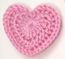 Crochet Heart Pattern love hearts crochet pattern by planetjune ymicmjl