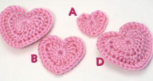 Crochet Heart Pattern love hearts donationware crochet pattern larger image ilxbbeb