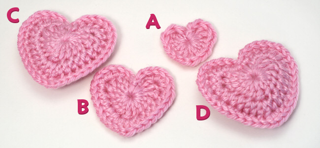Know about Various Crochet Heart Pattern