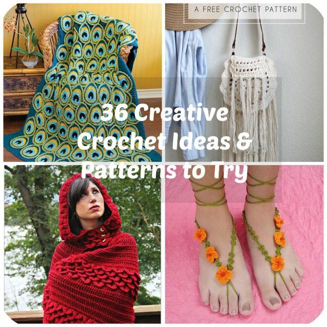 Crochet Ideas 36 creative crochet ideas u0026 patterns to try hxbfrwo
