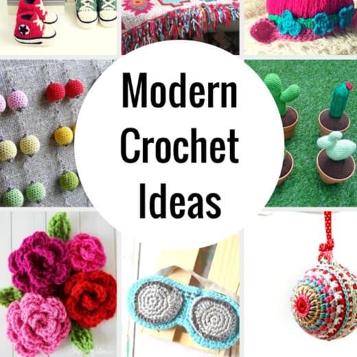 Crochet Ideas not your grandmas crochet ideas - fun and unique crochet ideas gwggmtx