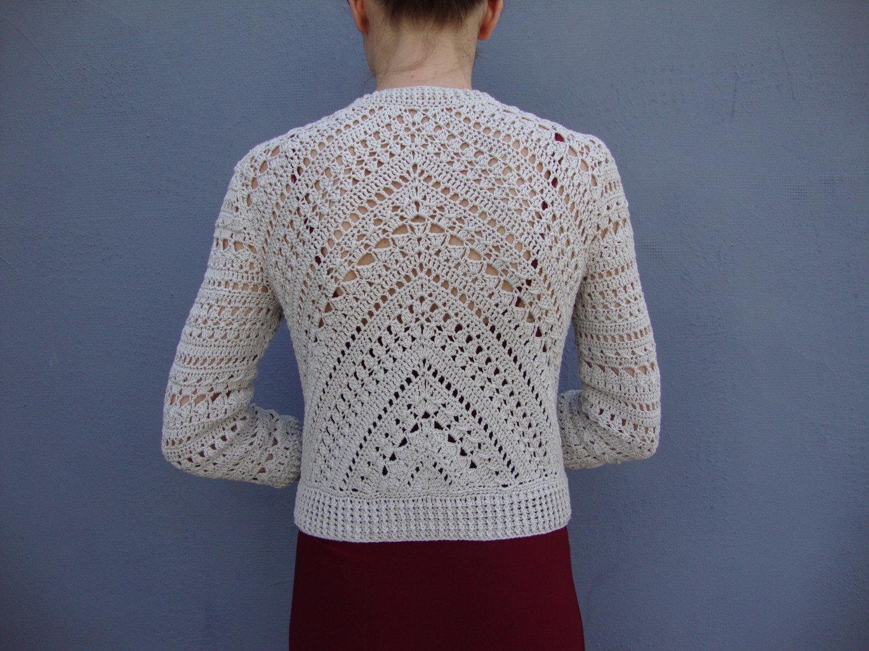 crochet jacket 🔎zoom bqadzle