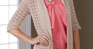 crochet jacket crochet this lovely open jacket made in lacy shell stitch. fmfhwzv