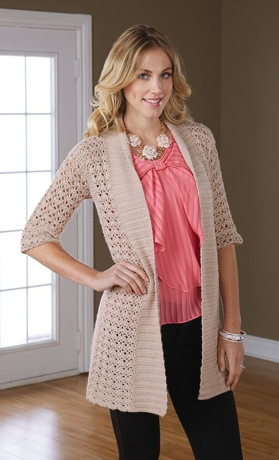 Feel Cosier with the Crochet Jacket