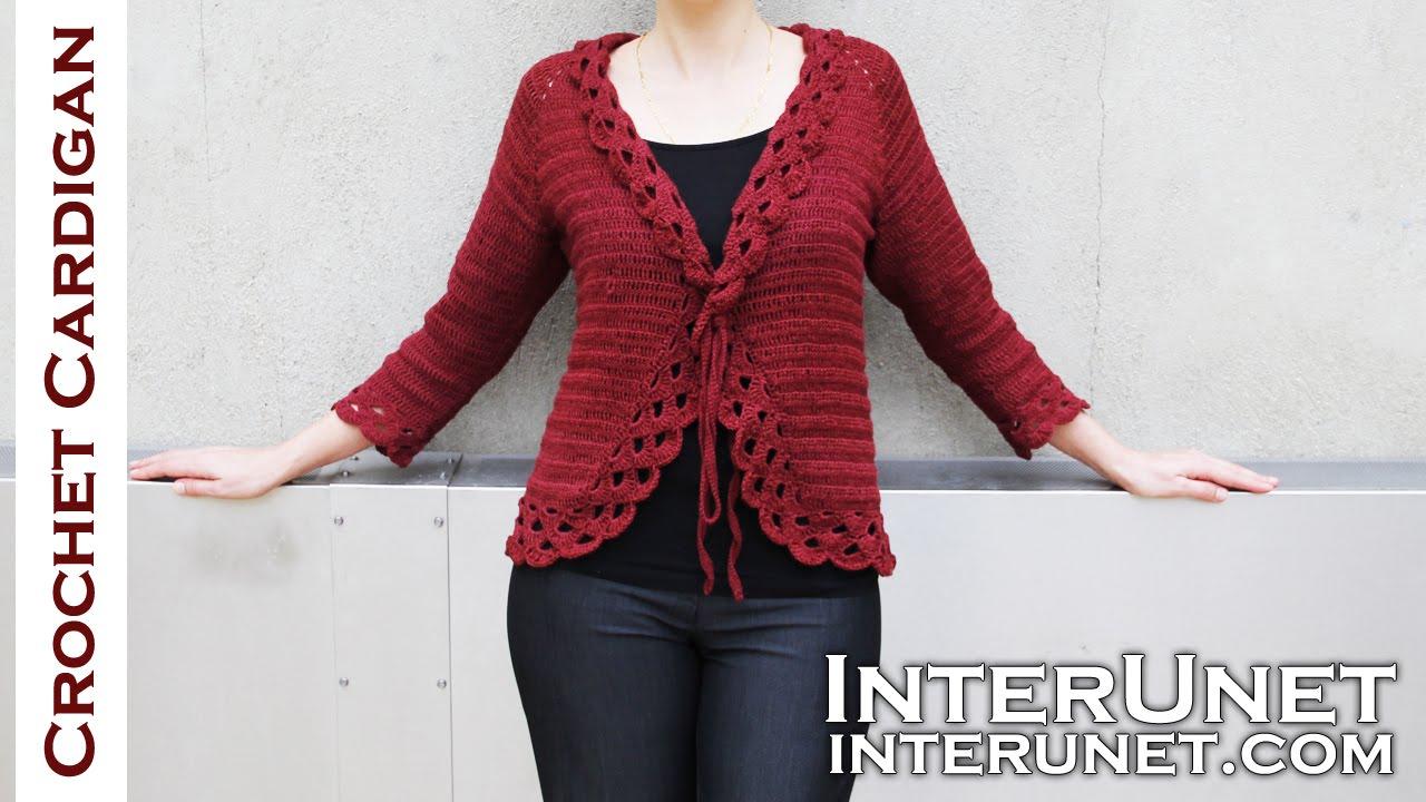crochet jacket crochet triple stitch cardigan jacket. part 1 of 2 - youtube gvvowwq