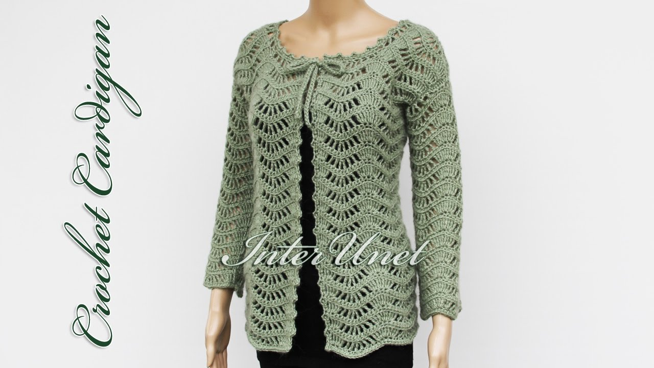 crochet jacket lace jacket cardigan crochet pattern - youtube jxogykj