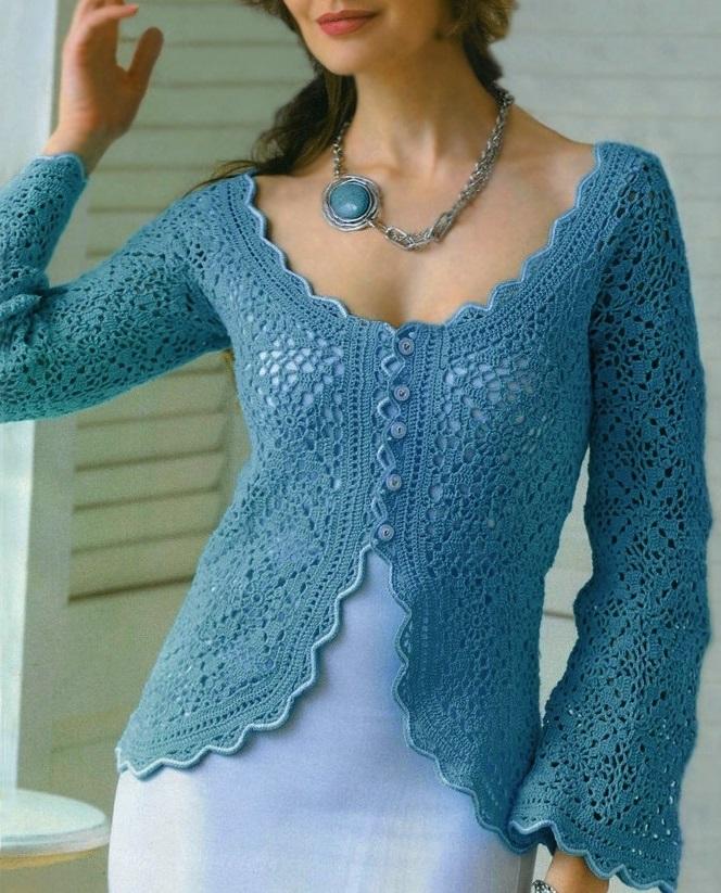 crochet jacket pattern ... oprucbe