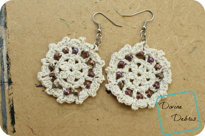 crochet lace carrie lace earrings yjqykdn