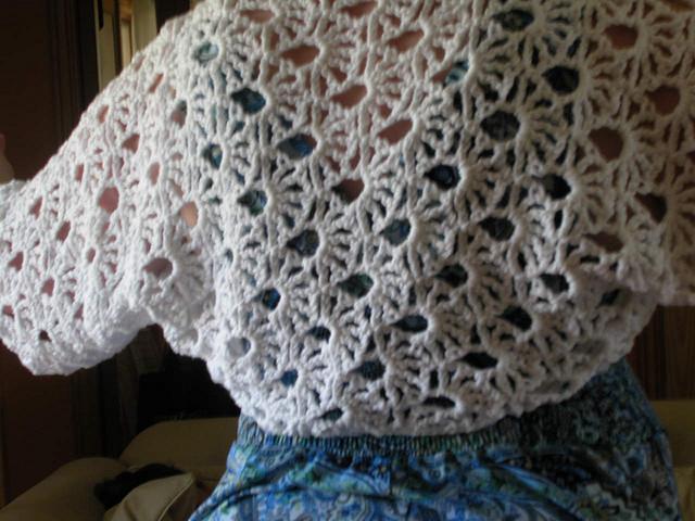 crochet lace pattern crochet lace free pattern shrug bolero uawlfig