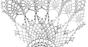 Crochet Lace Pattern crochet round doilies - crochet lace - free pattern mbejhxm