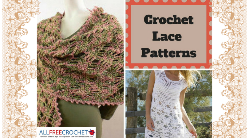 crochet lace pattern how to crochet lace + 34 free crochet lace patterns | allfreecrochet.com ihxcjha