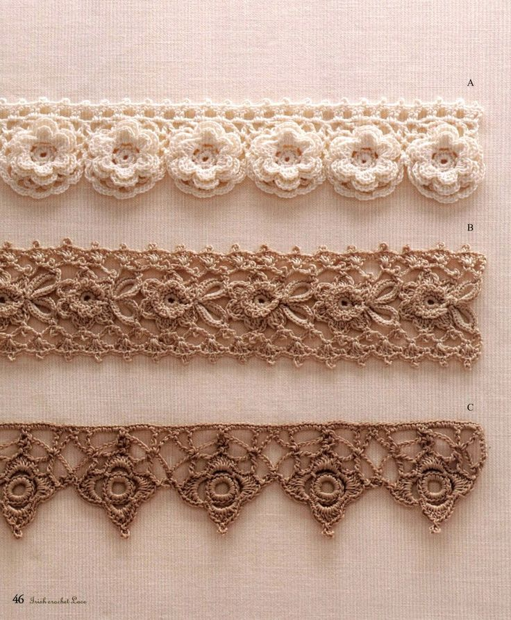 crochet lace patterns 42 sample crocheted lace trim to the edge of the lbgvdiy