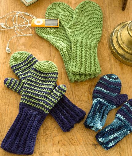 crochet mittens pattern qeddysn