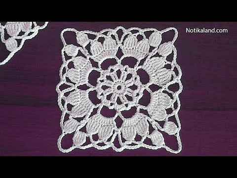 Crochet motifs – Unique Crochet Motifs Designs for Fabrics