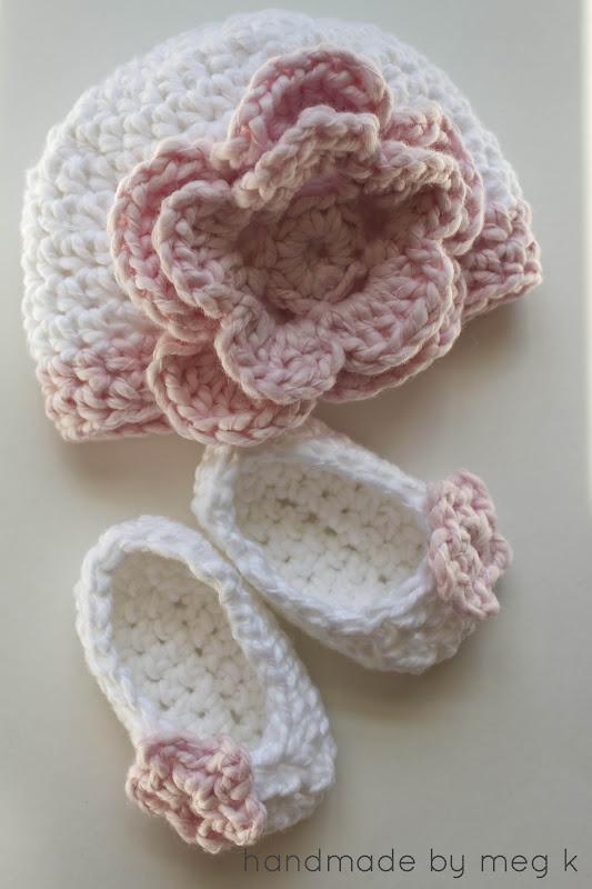 crochet newborn hat flower newborn hat {crochet pattern} rbudbka
