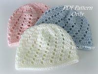 crochet newborn hat lacy crochet: v-stitch newborn beanie, free crochet pattern more | crochet  | xvgalaj