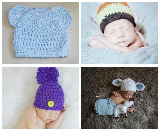crochet newborn hat newborn crochet hat patterns mebsiwv
