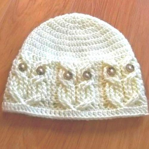 crochet owl hat pattern download a free pattern every day. ~ owl beanie   crochet stash .tumblr kitpzgz