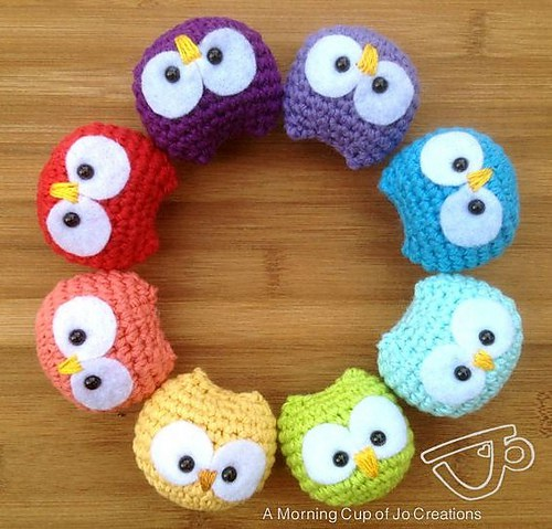 Crochet owl pattern 9.how to crochet owl amigurumi