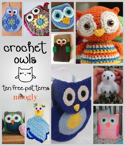Crochet owl pattern canu0027t get enough of these free crochet owl patterns! roundups on moogly! zcngjpl