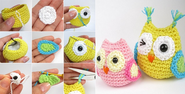 Crochet owl pattern crochet owl diy crocheted owls free patterns1 nmvfrqz