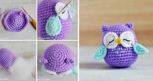 Crochet owl pattern diy crocheted owls free patterns3 qlheecz