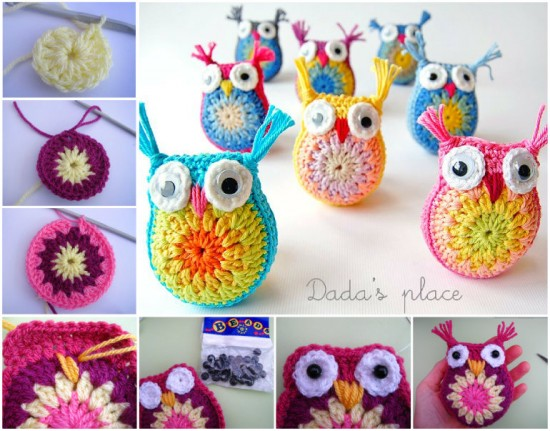 Crochet owl pattern diy crocheted owls free patterns4 orrkbxv