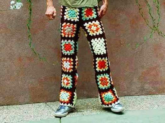 Crochet pants crochet man pants wbbfjff