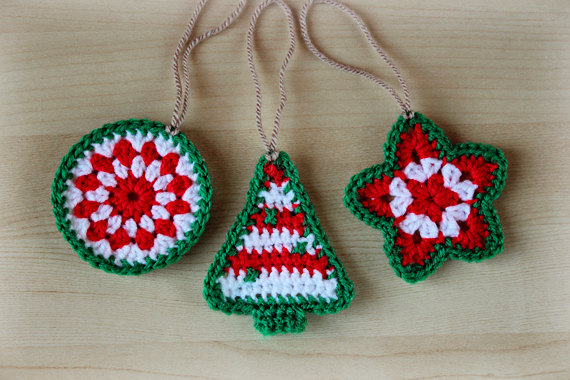 Special Collection of Crochet Christmas Ornaments