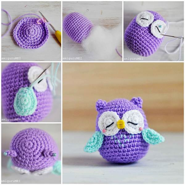 crochet patterns crochet owl amigurumi with free pattern and tutorial vwmleit