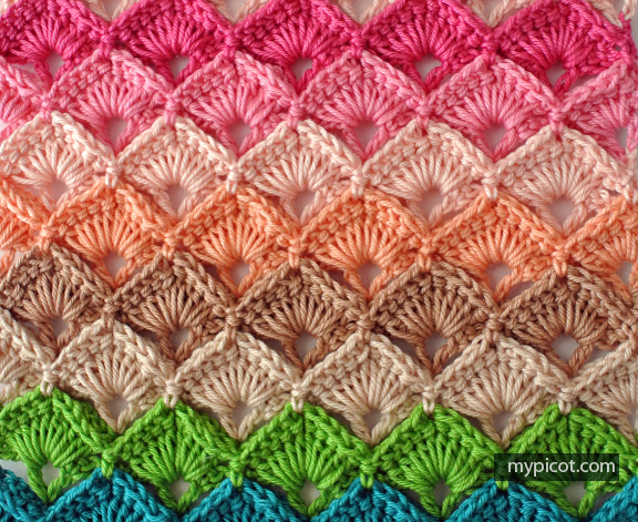 crochet patterns mypicot | free crochet stitch patterns wqndibl