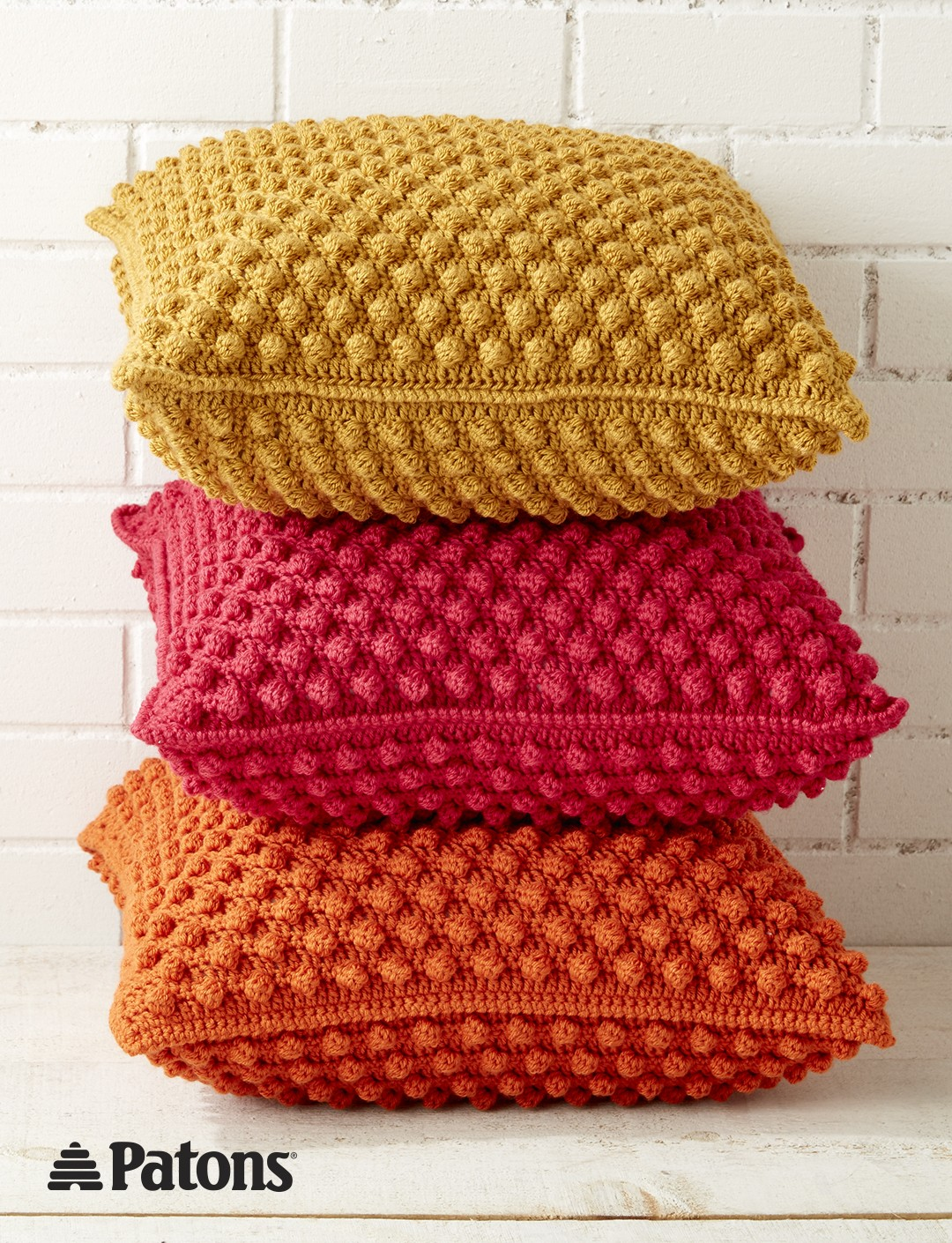 crochet pillow bobble-licious pillows mebnpqa