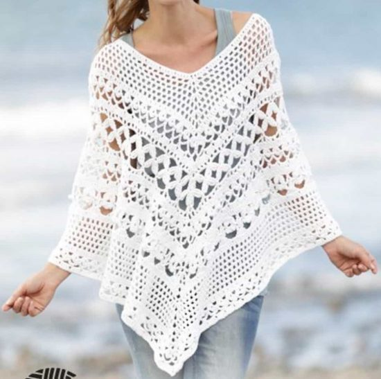 Wear It Wherever You Want: Crochet Poncho