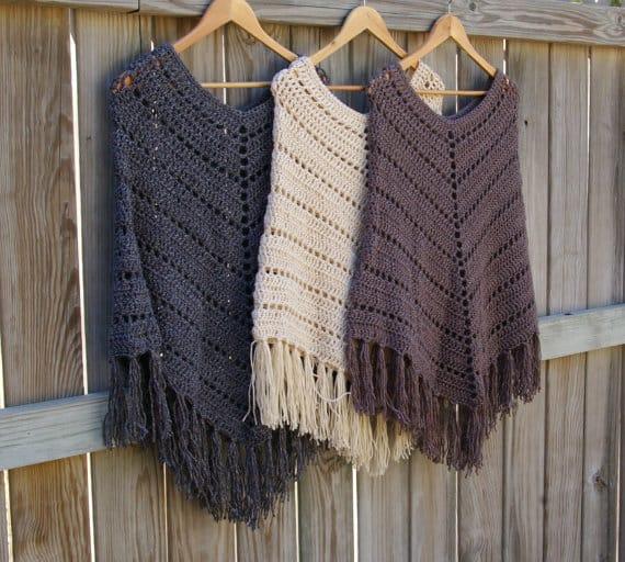 crochet poncho pattern bsbfxjf