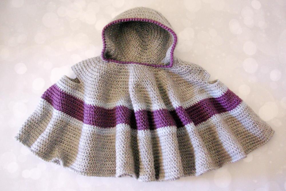crochet poncho pattern car seat cloak smcrcov