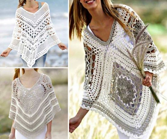 crochet poncho pattern qvumytj