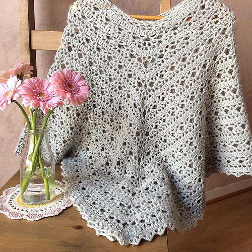 crochet poncho pattern ravelry: piapoirechocolatu0027s stylish poncho. crochet poncho patternsknitted  ... fhjpdqb