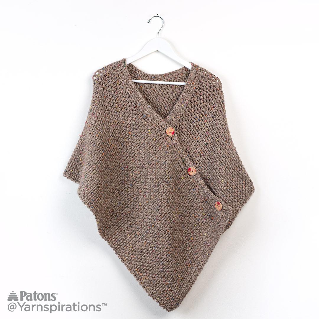 crochet poncho quaumny