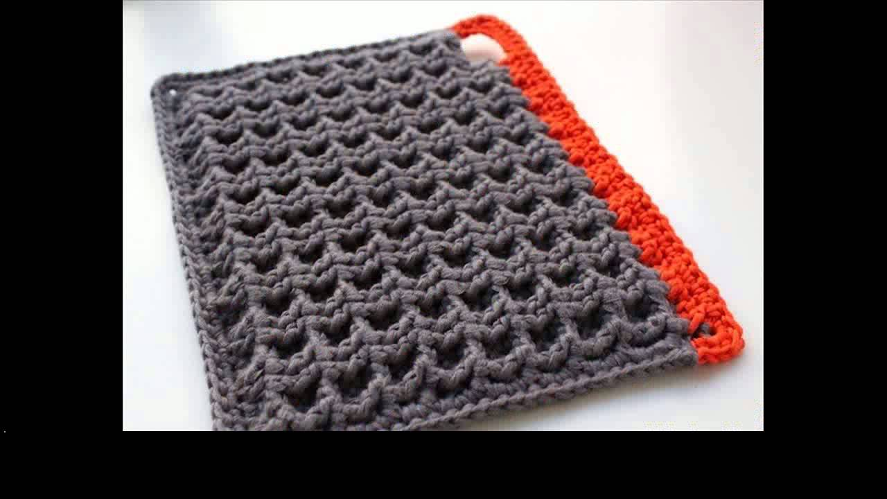 Crochet pot holders: Enhance the beauty of your home ...