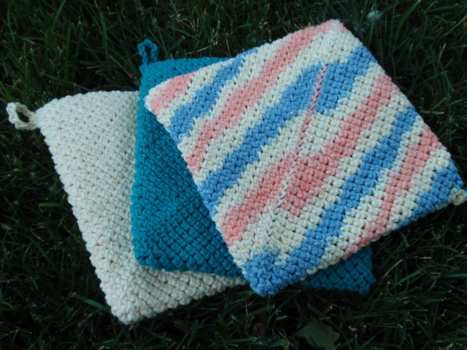 crochet pot holders simple crochet potholder pattern lizlhck