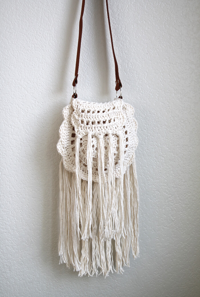 crochet purse boho tassel crochet bag pattern ... zzkmxpf