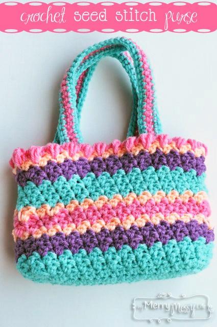 crochet purse patterns free crochet seed stitch purse easy pattern gupmizt