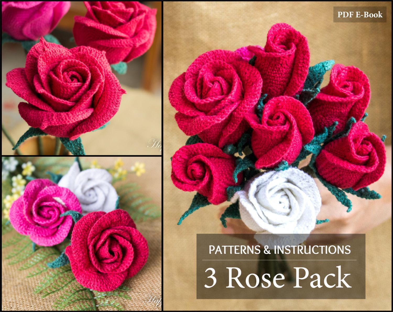 crochet rose 🔎zoom kwerltx
